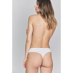WHAM Organic Cotton Thong - Salix Intimates