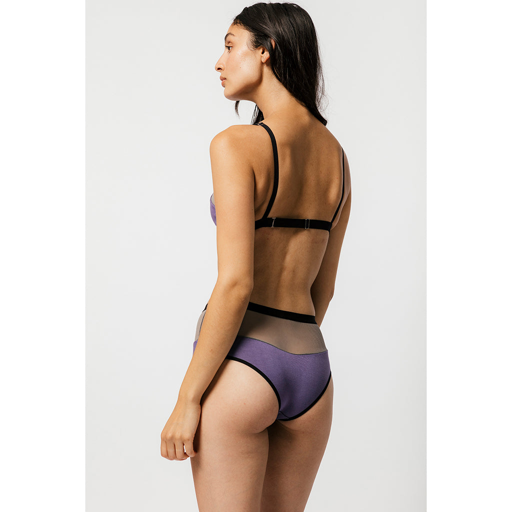 Logan High Cut Bikini - Salix Intimates