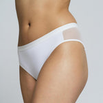 Mesh Panel Bikini - Salix Intimates