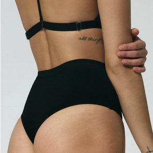 High Waist Thong - Salix Intimates