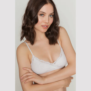 Organic Cotton Wrap Bra - Salix Intimates