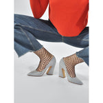 Rut Wide Fishnet Tights - Salix Intimates
