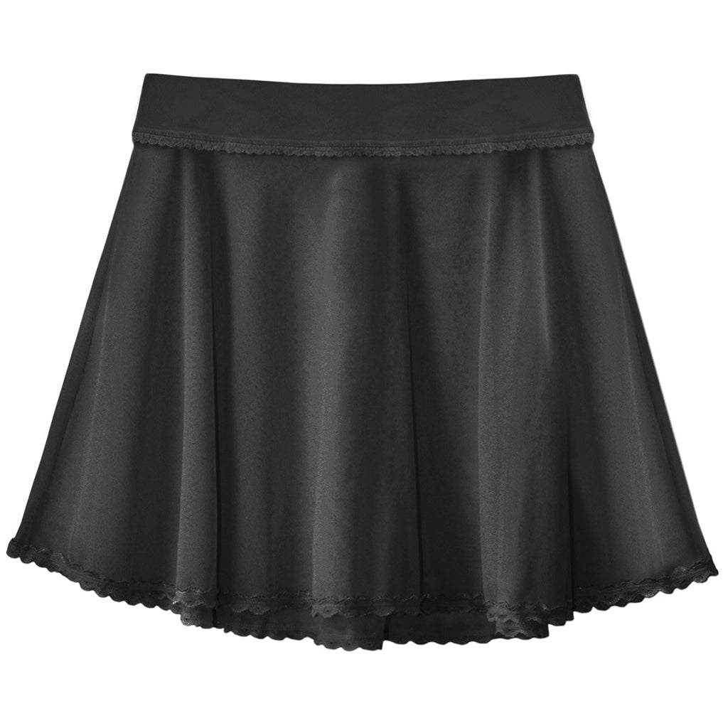 Sheerly Mesh Flounce Skirt
