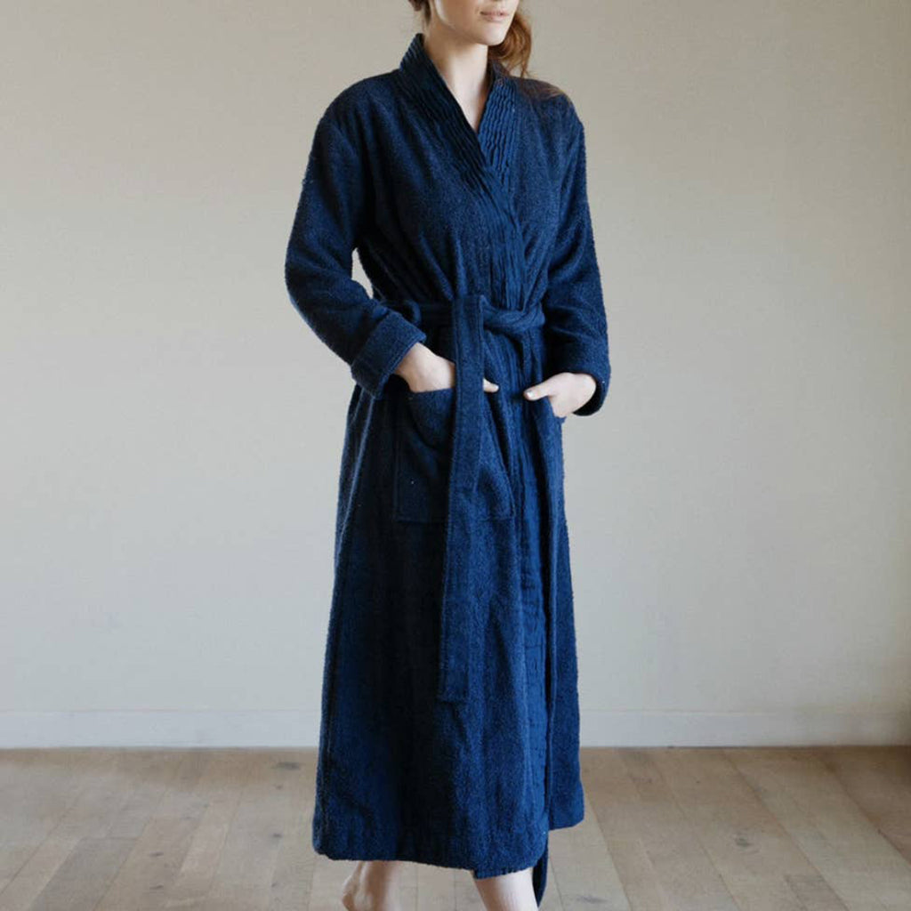 Turkish Cotton Pleated Robe