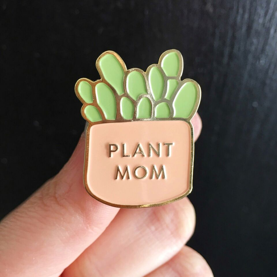 Plant Mom Pin - Salix Intimates