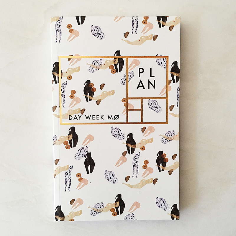 Foil Body Parts Year-Less Planner - Salix Intimates
