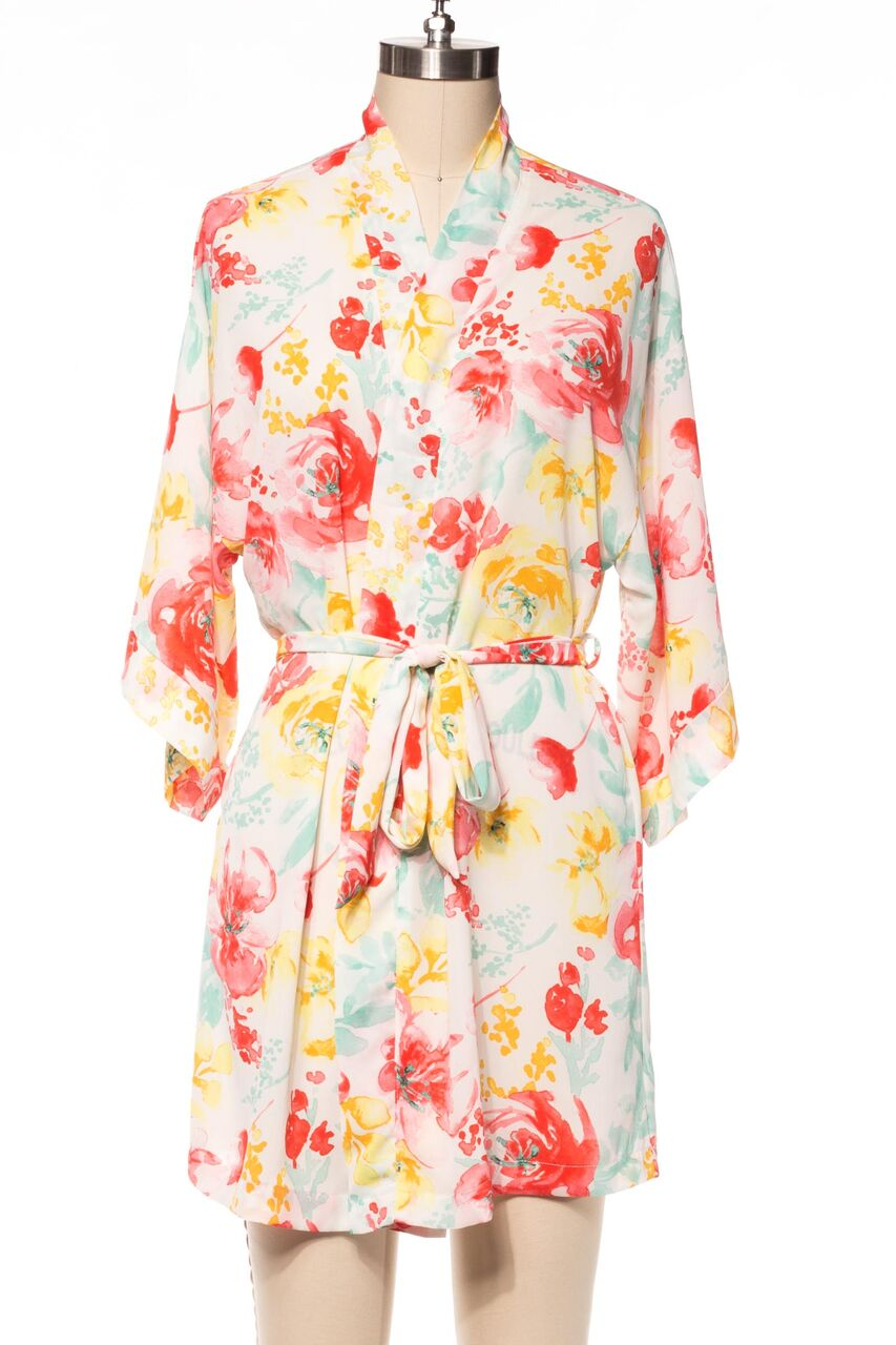 Watercolor Robe - Salix Intimates
