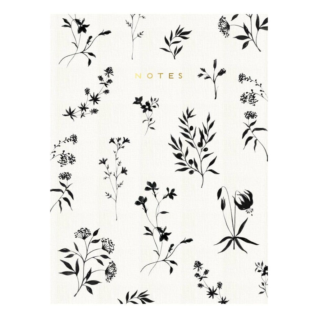 "Floral 6"" x 8"" Notebook"