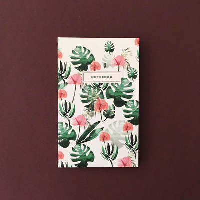 Anthurium Notebook - Salix Intimates