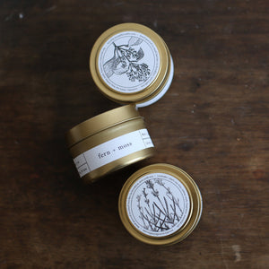Gold Tin Candle - Salix Intimates
