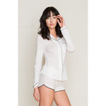 Organic Cotton Shorty PJs - Salix Intimates