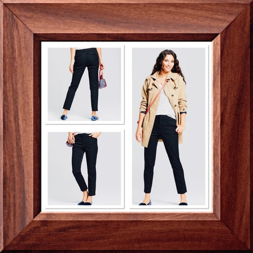 Brand New Women's Skinny High Rise Ankle Pants