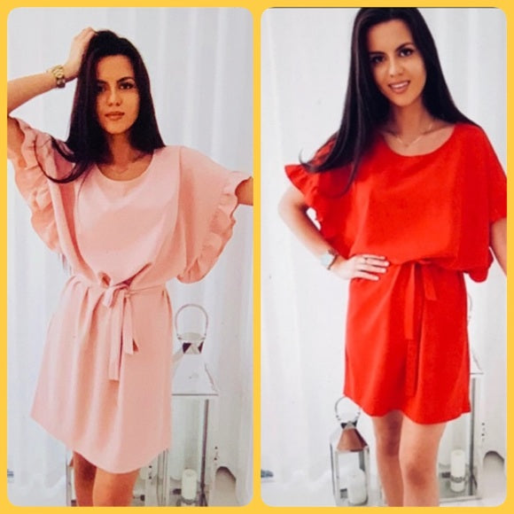 CLASSY FASHION CLOSET BRAND NEW CHIFFON 👗DRESS