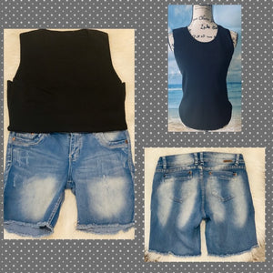 FREE Blouse W/Purchase of Shorts