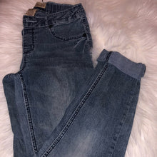 MUDD LITTLE GIRLS CROPPED JEANS👖
