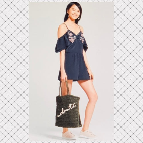 Brand New Xhiliration Cold Shoulder Romper