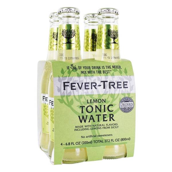 Fever Tree Lemon Tonic Water - 4 Pack