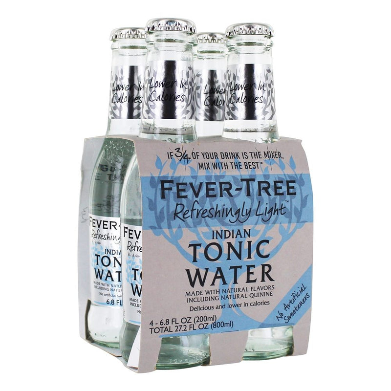 Fever Tree Light Tonic Water - 4 Pack