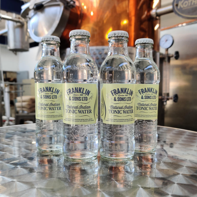 Franklin & Sons Tonic Water - 4 Pack