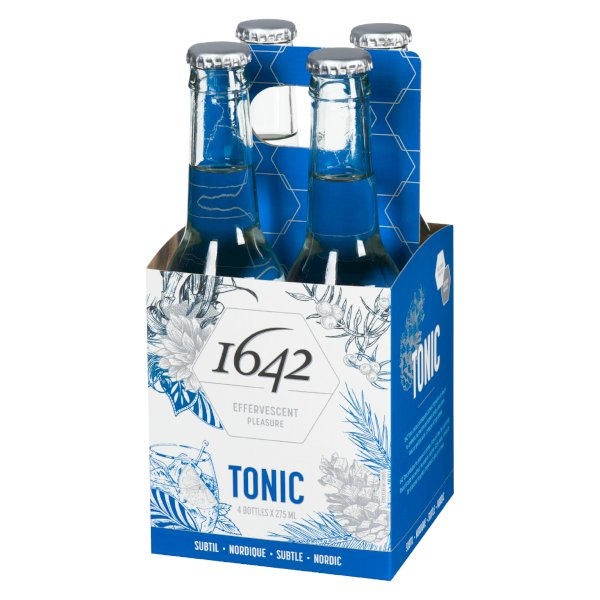1642 Canadian Premium Tonic Water - 4 pack