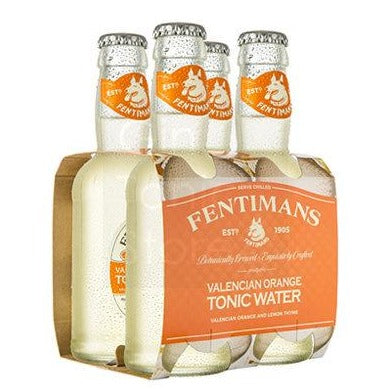Fentimans Valencian Orange Tonic Water 4 pack