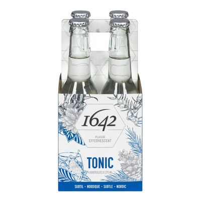 1642 Canadian Premium Tonic Water - 4 pack of 275ml bottles
