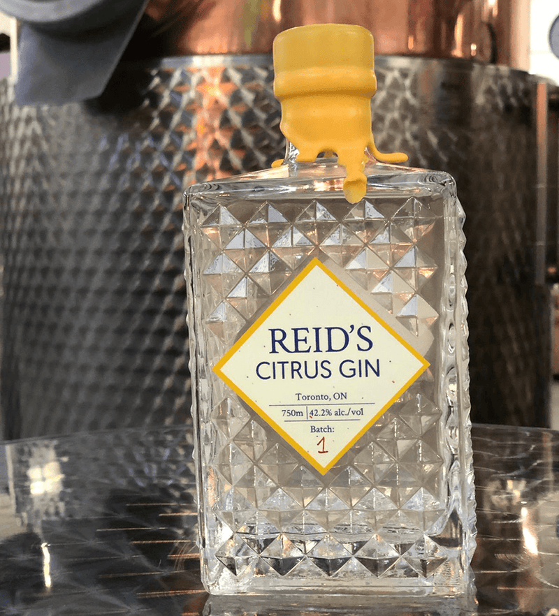 Reid's Citrus Gin - as part of cocktail kit