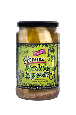 Matt and Steve's Extreme Pickle Spears  Garlic and Dill