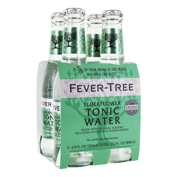 Fever Tree Elderflower Tonic Water - 4 Pack