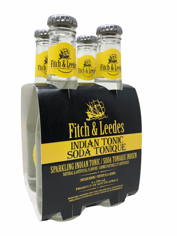 Fitch & Leedes Indian Tonic Water  - 4 pack