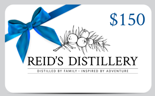 Reid's Distillery On-premise Gift Card - 150$