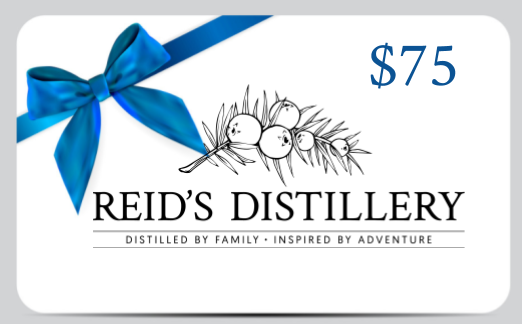 Reid's Distillery On-premise Gift Card - 75$