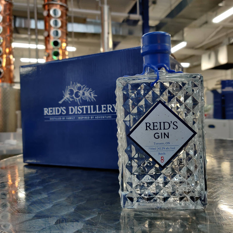 Case of 6 Reid's Signature Gin