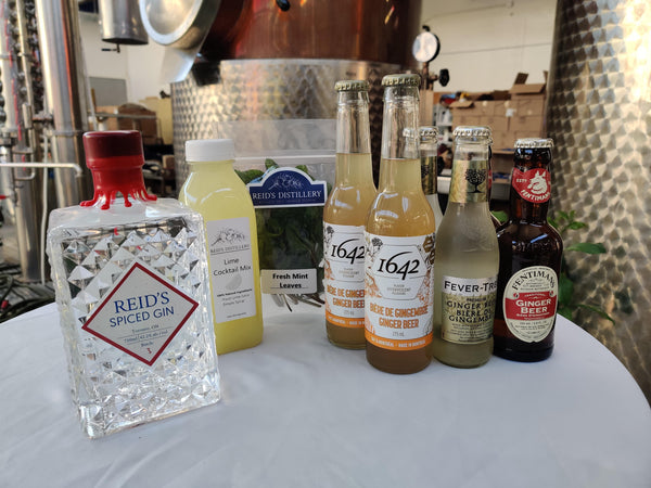 Battle of the Chef's - Gin Mule - Cocktail Session Kit