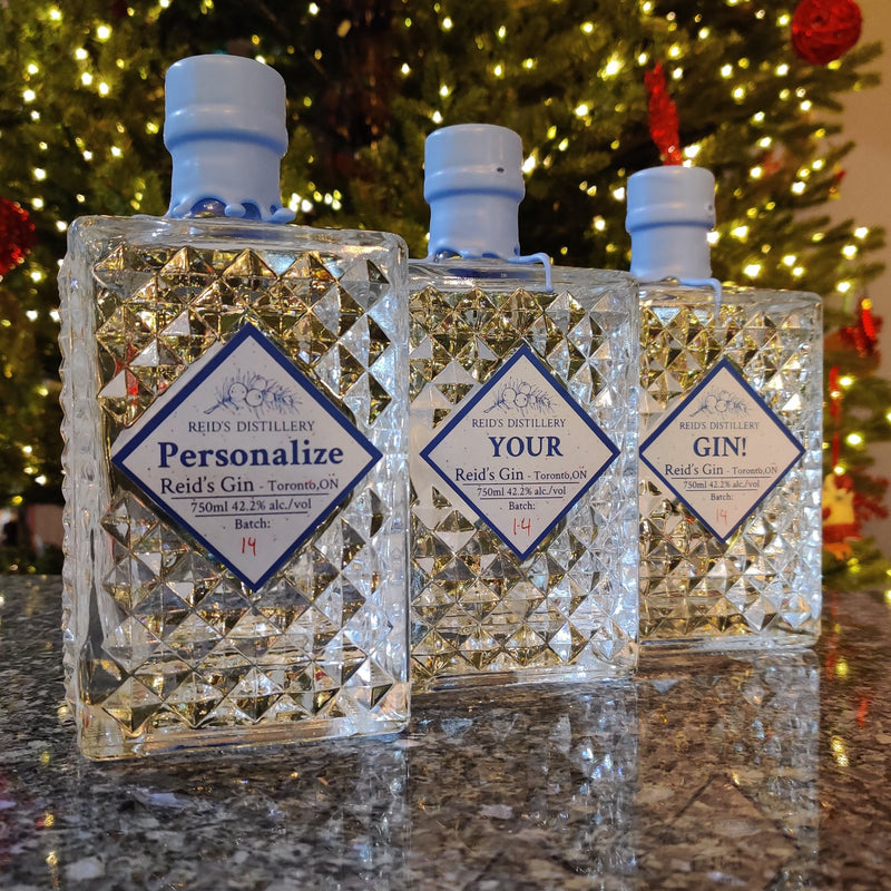 Personalize Your Reid's! - 750ml Reid's Signature Gin