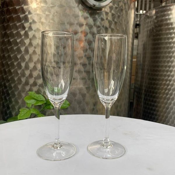 Champagne Flutes - Two