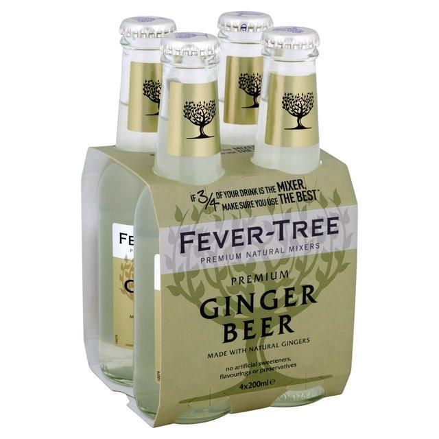 Fever Tree Ginger Beer - 4 Pack