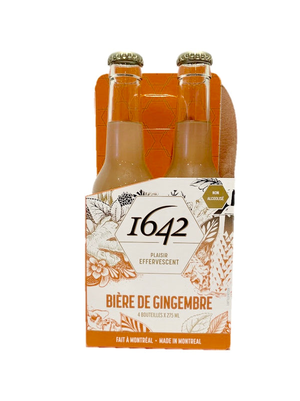 1642 Ginger Beer - 4 pack