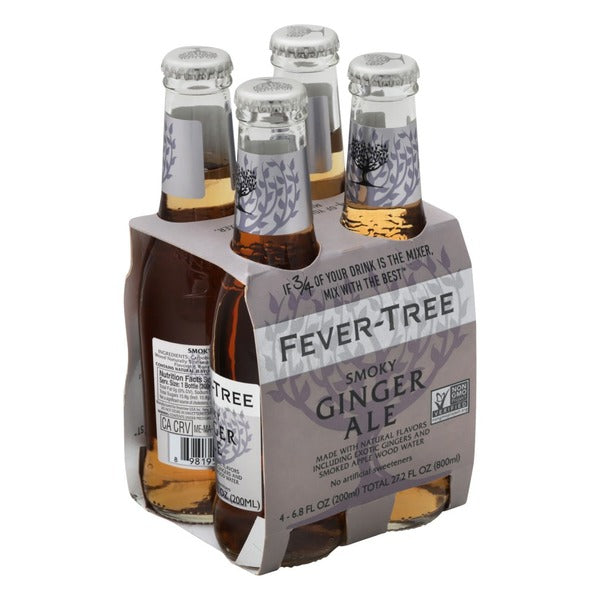 Fever Tree Smokey Ginger Ale - 4 Pack