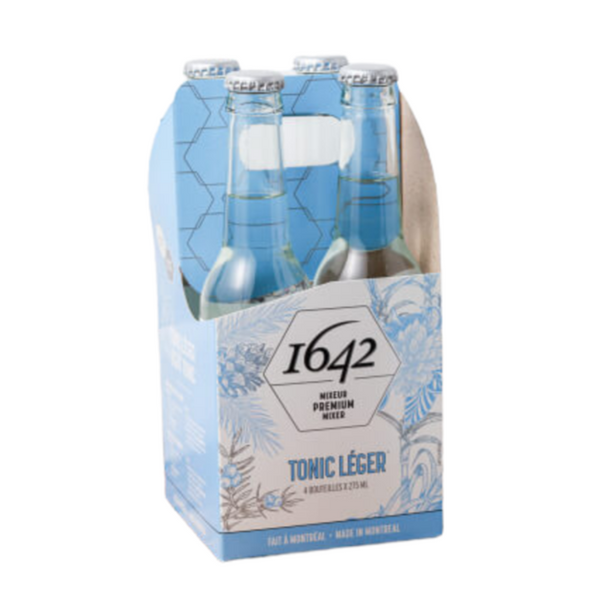 1642 Canadian Light Tonic Water - 4 pack