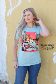 Wild Bandita Tee - A Blissfully Beautiful Boutique