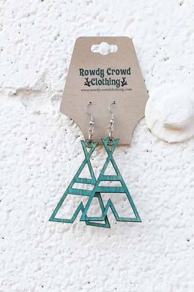 Creepy Teepee Earrings - A Blissfully Beautiful Boutique