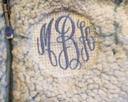 Monogram Embroidering - A Blissfully Beautiful Boutique