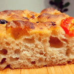 (A PACKAGE OF 2) Sourdough Focaccia - Olive and Cherry Tomato