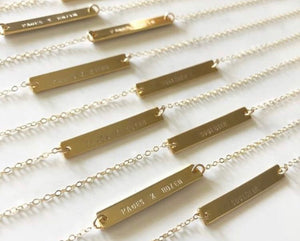SOULDIER Bar Necklace