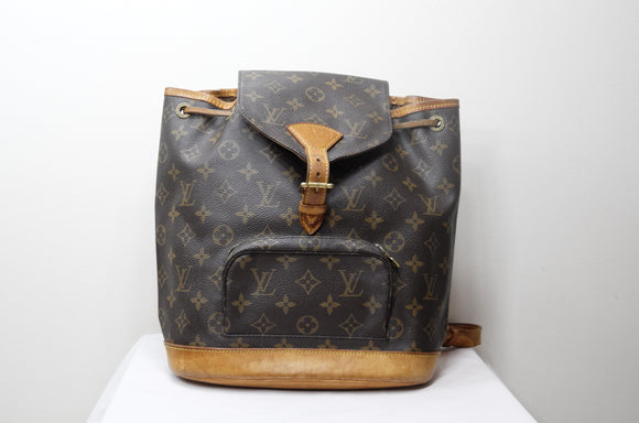 f81084f8bfa5 Louis Vuitton Monogram Montsouris MM Backpack - Dyva s Closet