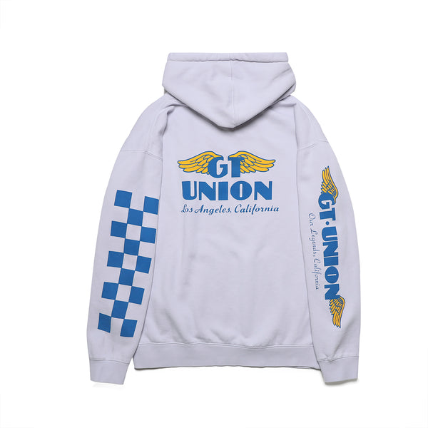 GT x UNION Wings Hoodie - Flat Grey