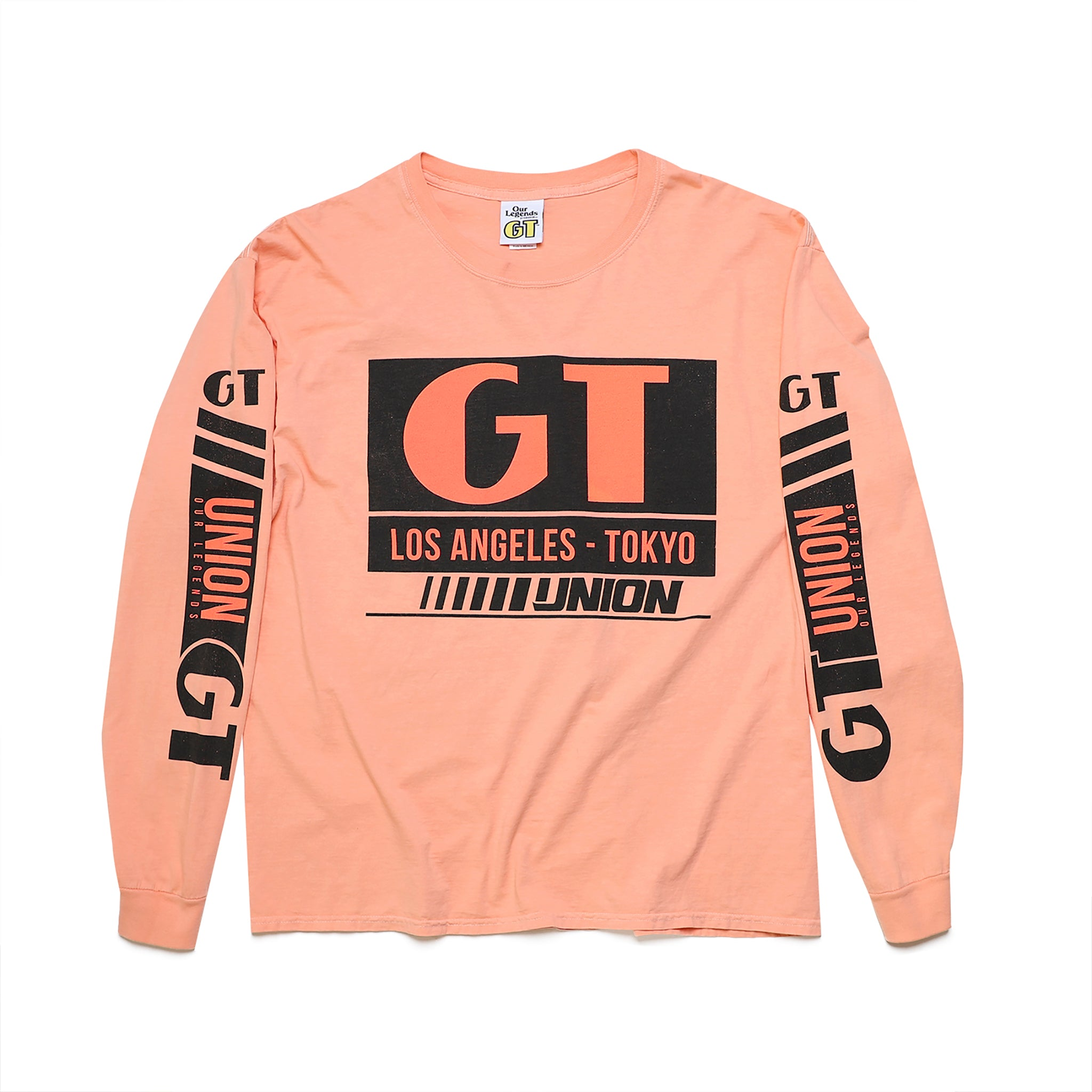 GT x UNION Team Long Sleeve - Pastel Peach
