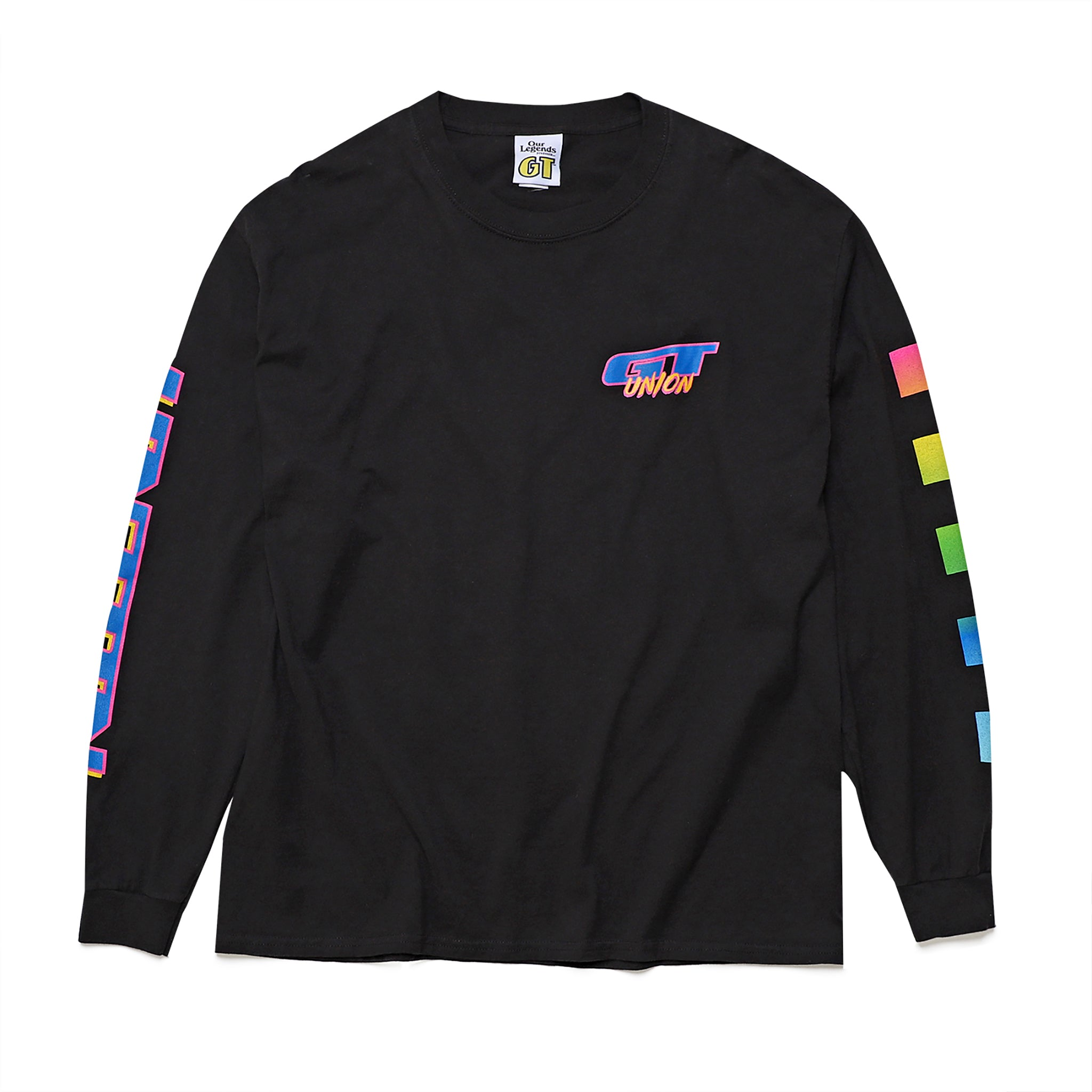 GT x UNION - GT Long Sleeve - Black