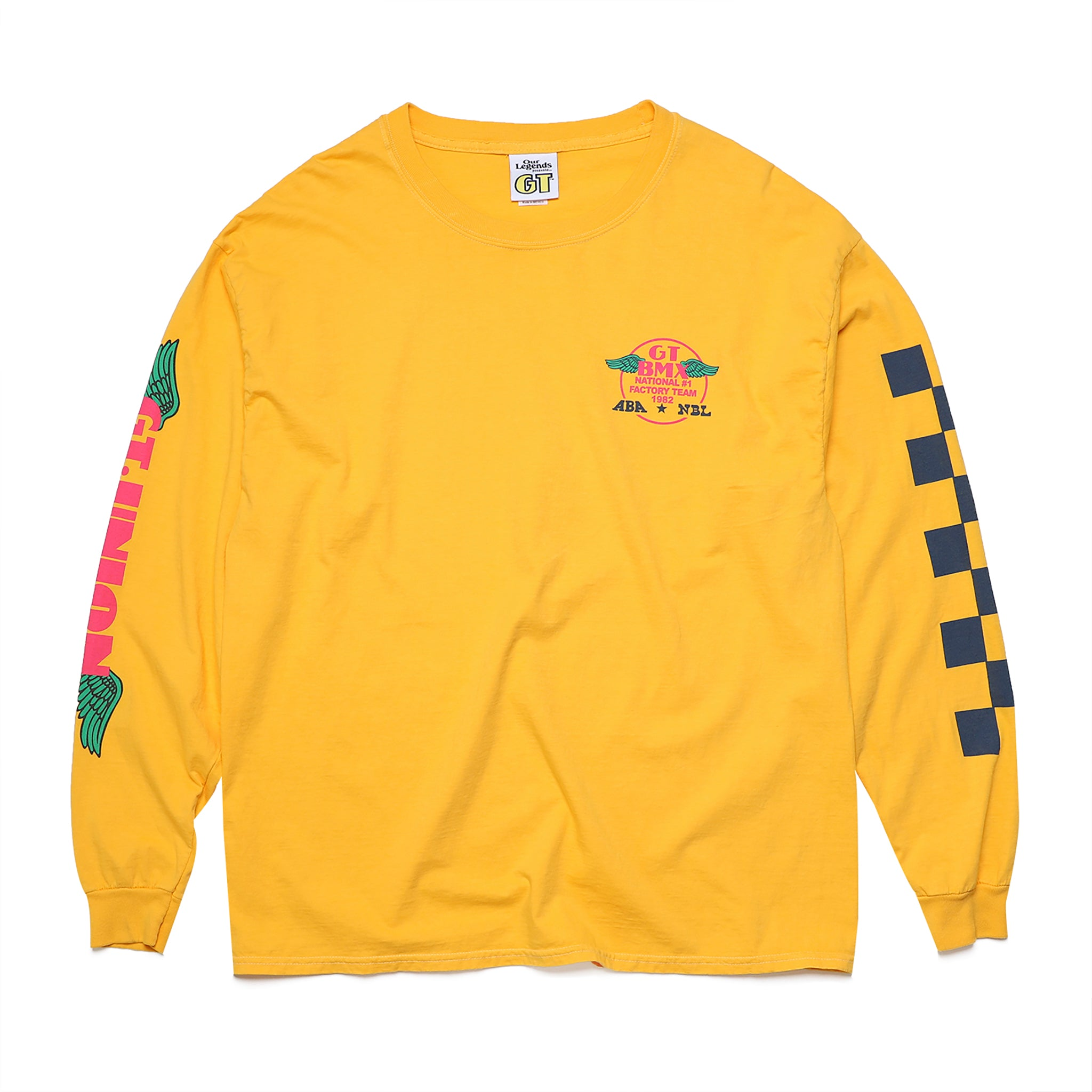 GT x UNION Factory Long Sleeve - Speed Yellow
